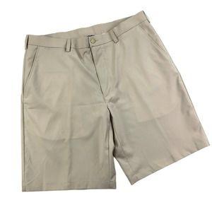 PGA TOUR Men's Golf Shorts Beige Size XL/36